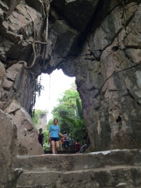One cave entrance